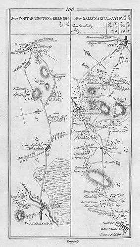 1778 Ireland Portarlington Mountmellick Killeigh Stradbally Antique
