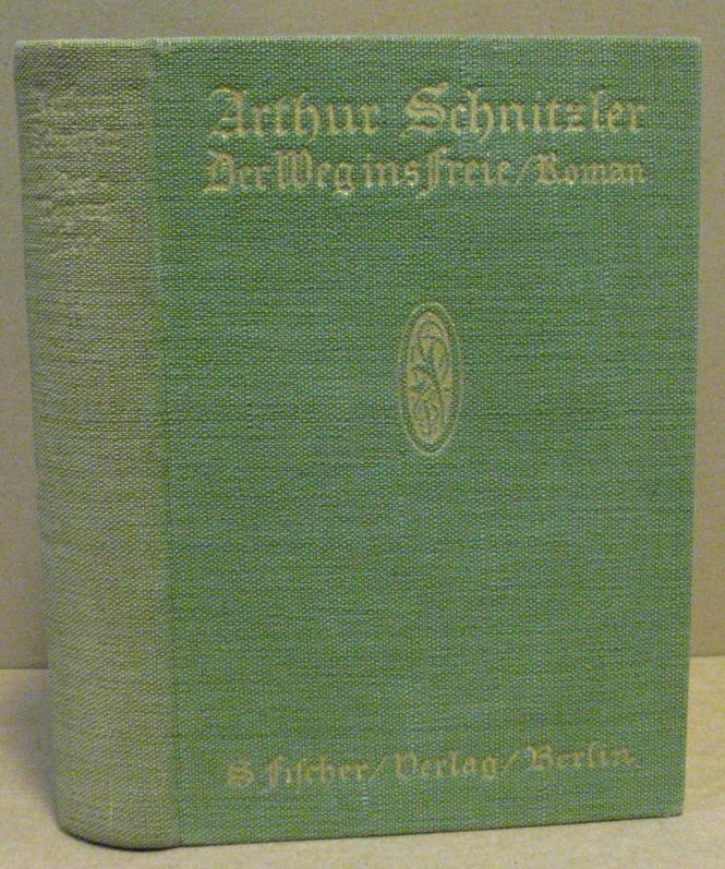 Der Weg ins Freie.: Schnitzler, Arthur