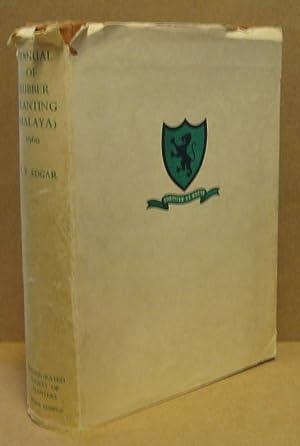 Manual of Rubber Planting (Malaya).: Edgar, A.T.: