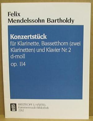 Konzertstück für Klarinette, Bassetthorn (zwei Klarinetten) und: Bartholdy, Felix Mendelssohn:
