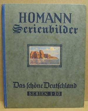 Homann Serienbilder: Das schöne Deutschland in 200: Fritz Homann Margarine-Werke