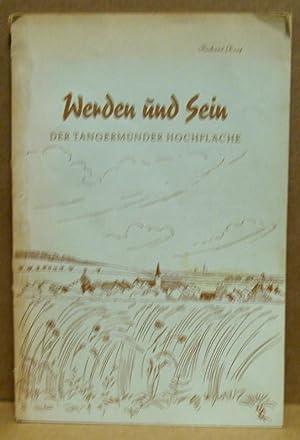 Werden und Sein der Tangermünder Hochfläche. Eine: Korf, Richard (Hrsg.