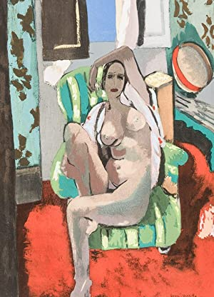 Henri - Matisse. [With Four original Pochoir: Matisse, Henri] Jedlicka,