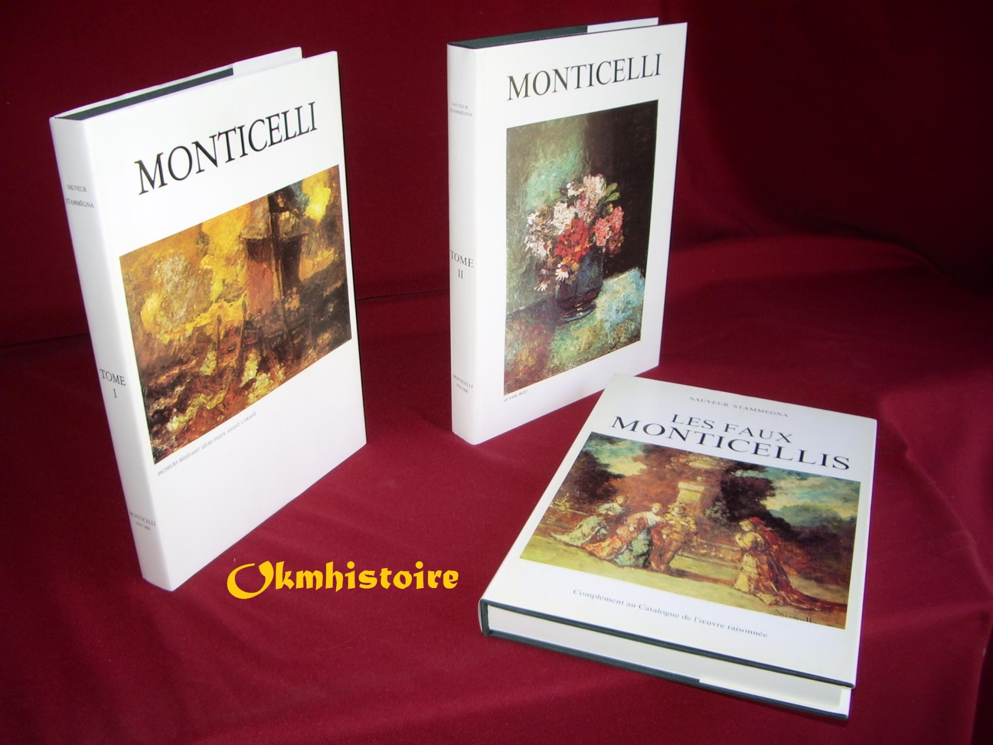 MONTICELLI__1824__1886__Catalogue_des_oeuvres__2_vol___Complément_au_catalogue_de_lœuvre_raisonné__LES_FAUX_MONTICELLI___Série_complète_