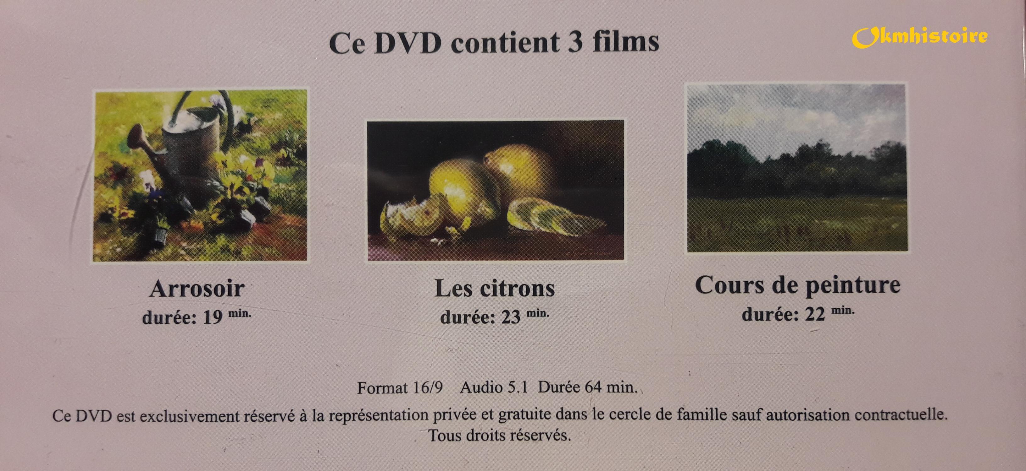 DVD - Serguêï Toutounov présente une série de films sur la peinture d'après nature ...