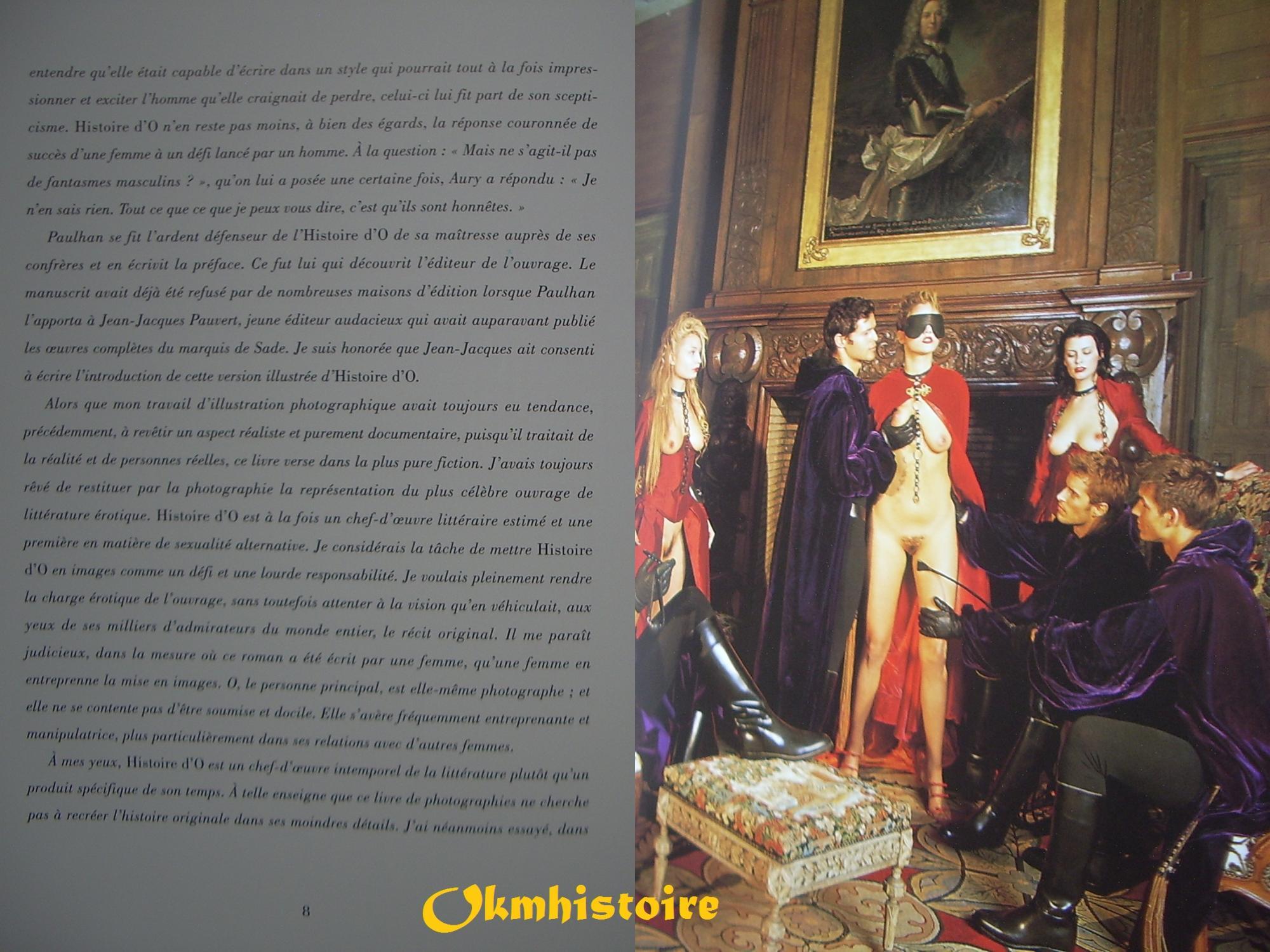 Histoire d'O illustrée by Réage ( Pauline ) [ Extraits du