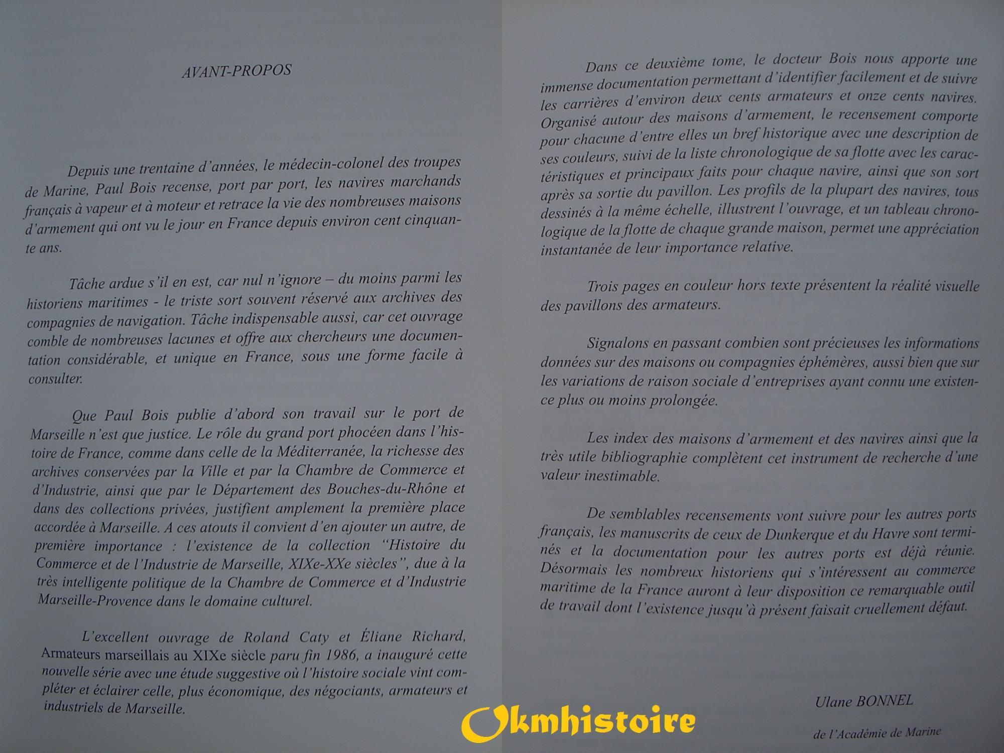 Armements Marseillais Compagnies De