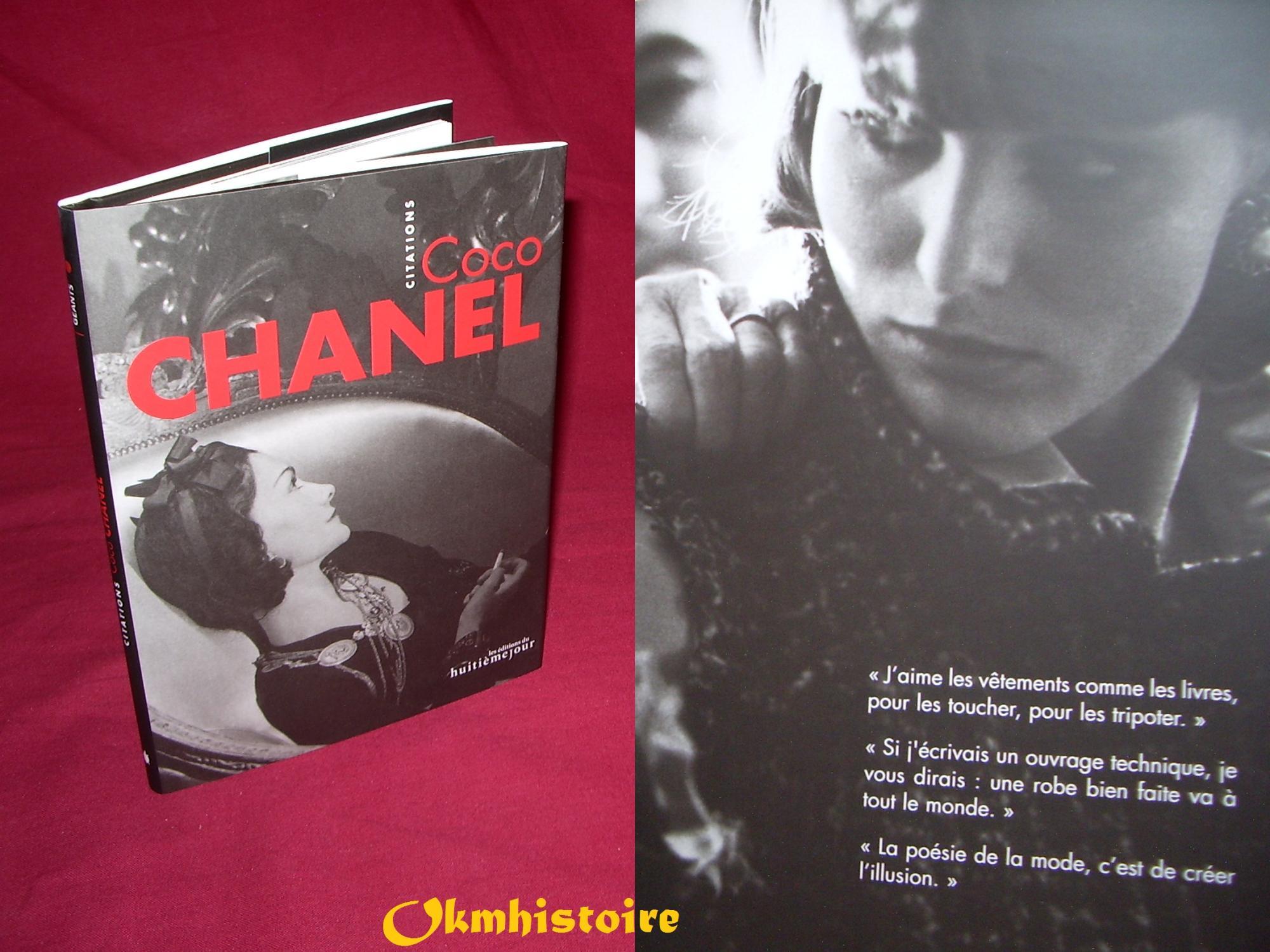 Coco Chanel Citations