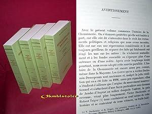 Histoire de la révolution dans la Mayenne. ---------- 4 volumes /4. --------- Ré...