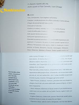 Pizzi Cannella Piero , Omaggi . ---------- oct.-déc. 2006,: Pizzi Cannella Piero [ préface ...