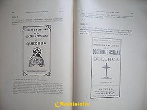 Bibliographie des langues aymara et kicua. Publié avec le concours du C. N. R. S. et de &...