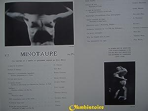 MINOTAURE 1934 - 1936 [ Réédition reliée des N° 5, 6 , 7, 8 ]: MINOTAURE ]...
