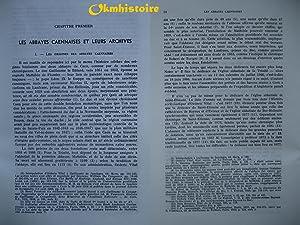 Les actes de Guillaume le Conquérant et de la Reine Mathilde pour les abbayes caennaises,: ...