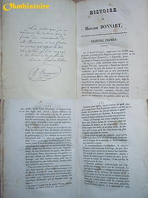 Histoire de Médard Bonnart, chevalier des ordres royaux et militaires de Saint-Louis et de ...