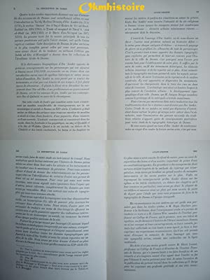 La description de Damas d'Ibn Asakir ( Historien mort à Damas en 571 / 1176 ). ...