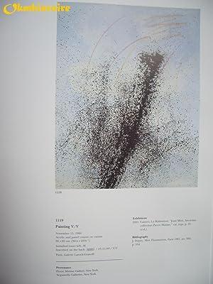 JOAN MIRÓ - Paintings IV ( 4 ) : Catalogue raisonné des peintures - Volume 4 ( 1959 -...