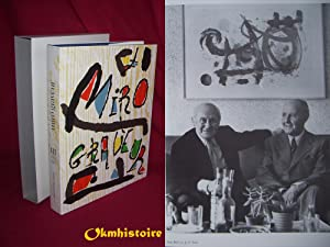 JOAN MIRÓ GRAVEUR - : Catalogue Raisonné: DUPIN ( Jacques