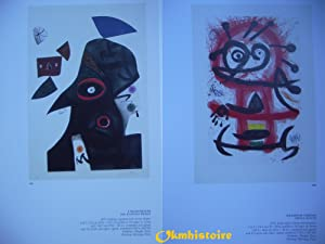 JOAN MIRÓ ENGRAVER - 4 : Catalogue Raisonné des Gravures , Volume 4 ( 1976 - 1981 ) -...