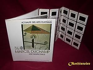 MARCEL DUCHAMP - Retrospective ------------- [ Actualité des Arts Plastiques N° 34 ]: ...