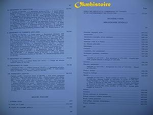 Catalogue du fonds des Etats-Unis d'Amérique -------- TOME 1: TILLIETTE ( Pierre-Alain ...