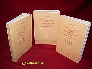 Études et recherches sur la vie intellectuelle juive au Maroc - De la fin du XVe au d&eacute...