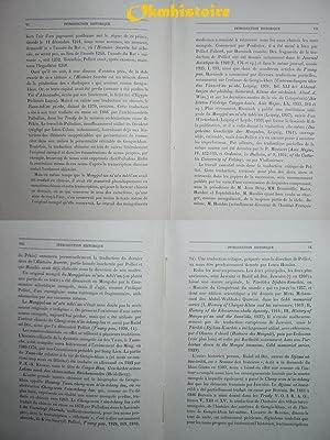 GENGIS KHAN: VLADIMIRTSOV ( B. ) [ traduit du russe par Michel Carsow avec une Introduction ...