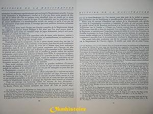 Histoire de la magistrature française des origines à nos jours --------- TOME 1 seul:...