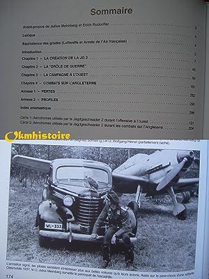 """Dans le ciel de France : HISTOIRE DE LA JG 2 """" RICHTHOFEN """" . -------- Tome 1 ( 1934 -..."""