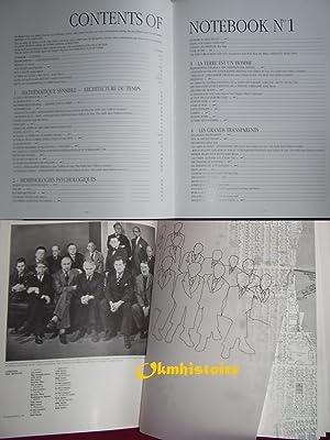 MATTA - Entretiens Morphologiques - Notebook No.1 1936-1944. ------------ Bilingue : Franç...