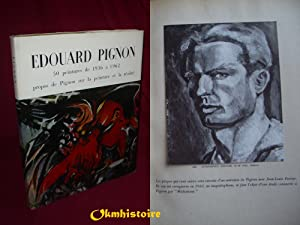 EDOUARD PIGNON , 50 peintures de 1936: PIGNON ( Edouard