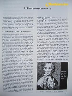 Carte archéologique de la Gaule --------- L'AUBE - 10: DENAJAR ( Laurent )