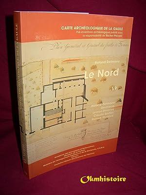 Carte archéologique de la Gaule --------- 59 - NORD: LEMAN-DELERIVE ( Germaine ) & SEILLIER ( ...