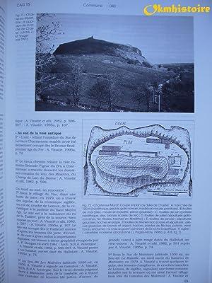 Carte archéologique de la Gaule ---------15 - CANTAL: PROVOST ( Michel ) & VALLAT ( Pierre )...