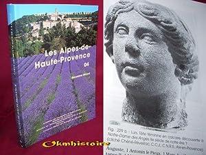 Carte archéologique de la Gaule --------- 04 - ALPES-DE-HAUTE-PROVENCE: BERARD ( Géraldine )