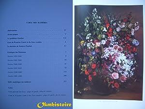 La Vie et L'oeuvre De Gustave Courbet. Catalogue raisonné. -------------- Tome I : 1819...