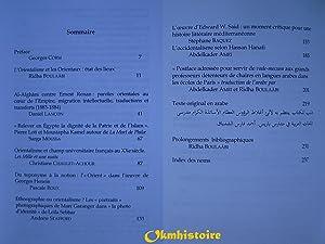 Les Orientaux face aux orientalismes: BOULAÂBI ( Ridha ) [ sous la direction de ] [ Préface de ...