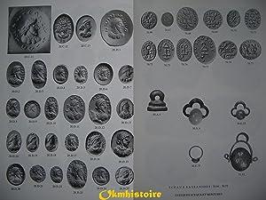 Catalogue des sceaux, camées, et bulles sassanides de la Bibliothèque nationale et du...
