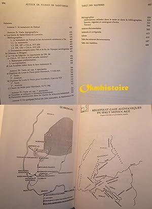 Autour de Fulrad de Saint-Denis ( v.710-784 ): STOCLET ( Alain )