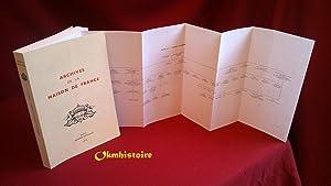 Archives de la Maison de France ( Branche d'Orléans ) . ---------- TOME 2 : Domaines d&...