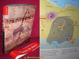 Peintures et gravures d'avant les pharaons . Du Sahara au Nil: LE QUELLEC ( Jean-Loic ) & DE ...