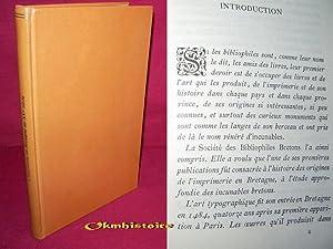 L'Imprimerie en Bretagne au XVe siècle. Étude sur les incunables bretons, avec ...
