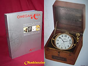 OMEGA MANIA. Thematic Auction. Important Omega Collector's Timepieces - Genève, 14 et 15 avril 20...
