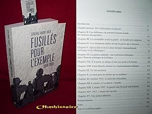 Fusillés pour l'exemple, 1914-1915: BACH ( André )