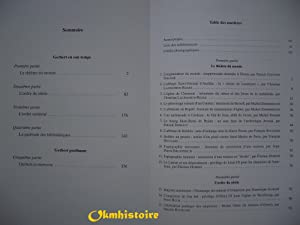 Autour de Gerbert d'Aurillac le pape de l'an mil. Album de documents: GUYOTJEANNIN ( ...