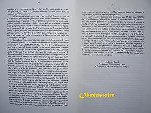Le pouvoir des comtes de Bourgogne au XIIIe siecle: ALLEMAND-GAY ( Marie-Thérèse )