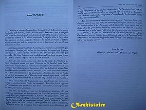 Rôles de la taille de l'élection de Paris. 1740-1790. Inventaire: GUEROUT ( Jean ...