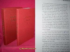 CARTULAIRE DE REDON - Cartulaire de l'Abbaye Saint-Sauveur de Redon ------------ TOMES 1 &...