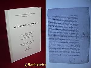 Le testament du Lingon: LE BOHEC (