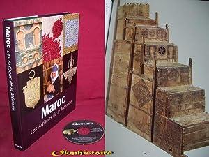 MAROC : Les Artisans de la Mémoire -------------- + 1 CD: GRAMMET ( Ivo ) & DEWACHTER ( Min ...