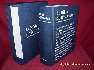La Bible de Jérusalem -------- VERSION LUXE: Ecole biblique de